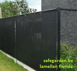 Lamellen florida tuin afsluiting prijs tot 10 korting for Moderne afsluiting tuin