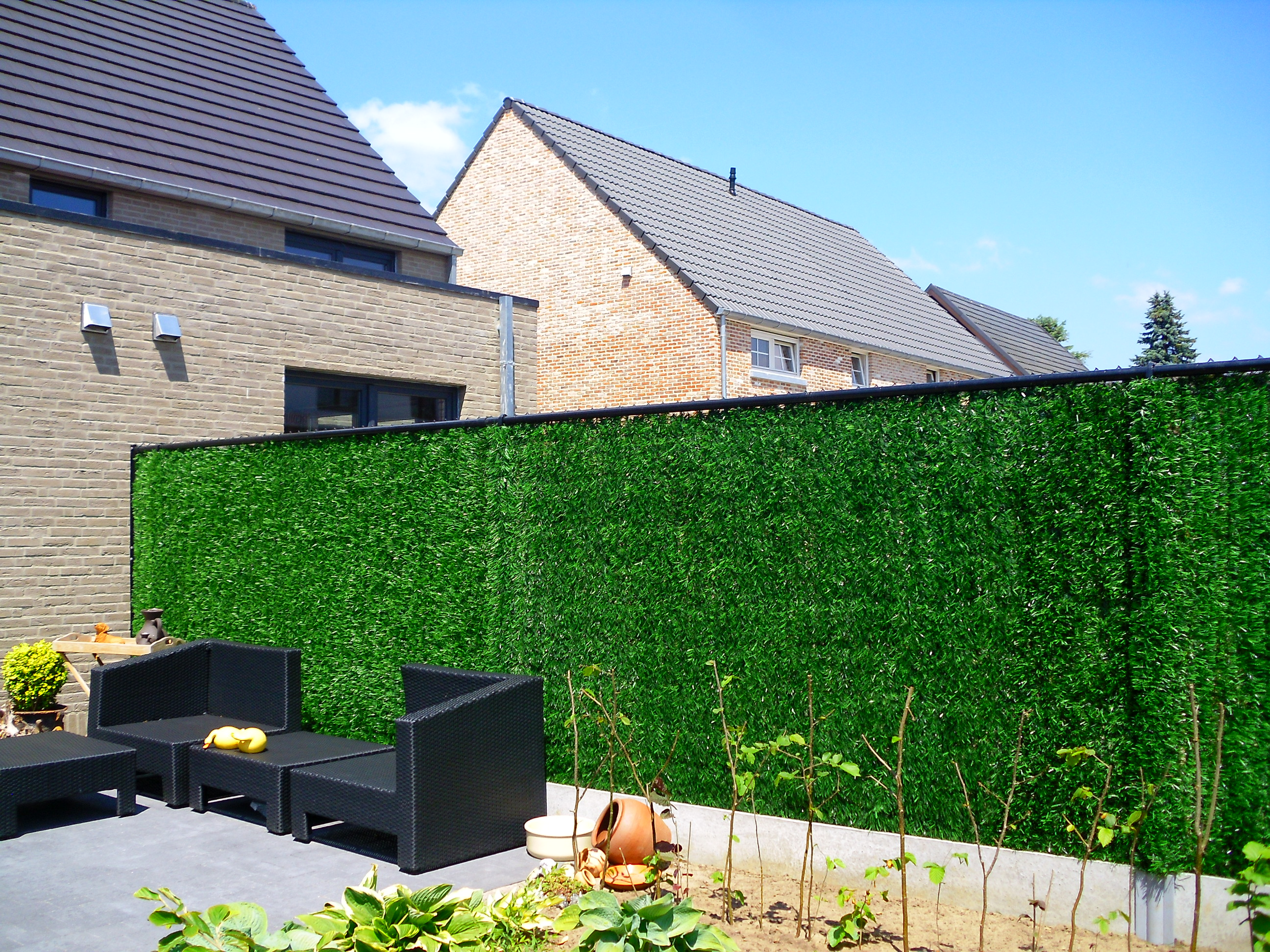 Goedkope Omheining Tuin : Mooie goedkope kunsthagen safegarden green korting vanaf u ac