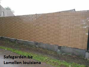 lamellen Louisiana Tuinlamellen - safegarden